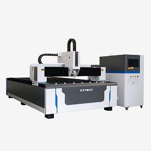 Open-type fiber laser cutting machine