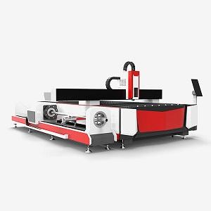 Metal sheet and tube fiber laser cutting machine