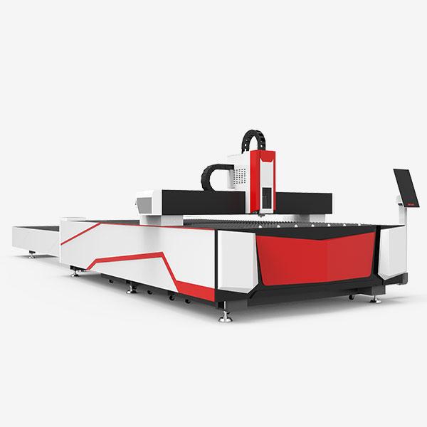open type exchange table fiber laser cutting machine