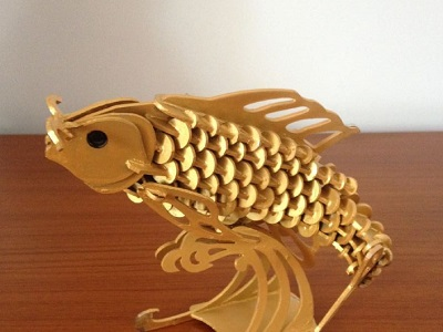 laser cut templates of 3d animals