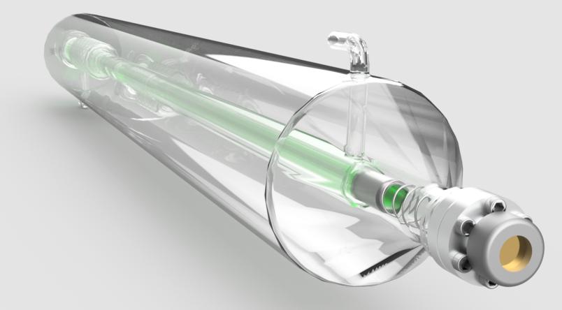 gerador de tubo de laser de co2 selado que um cortador de laser de co2 barato usa